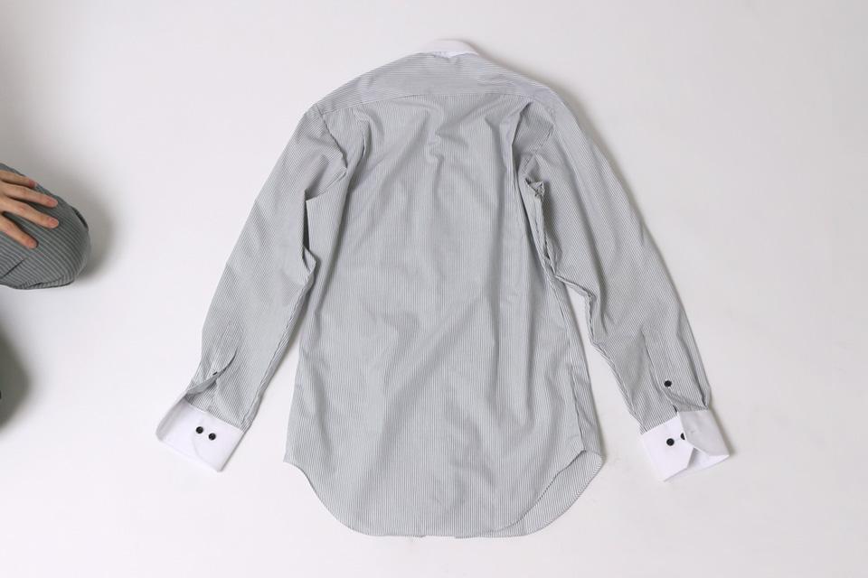 ワイシャツの畳み方
