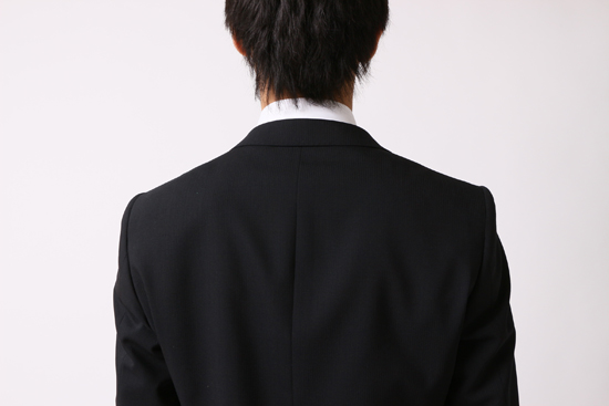 ジャストサイズのジャケット