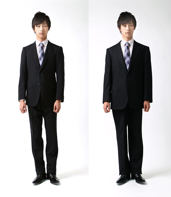 ジャストサイズスーツと大きいサイズのスーツ