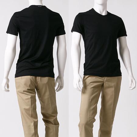 黒の無地のドルガバTシャツ