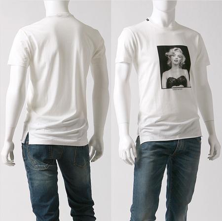 モノクロのドルガバのプリントTシャツ