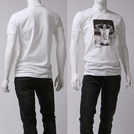 モノクロのプリントのドルガバTシャツ