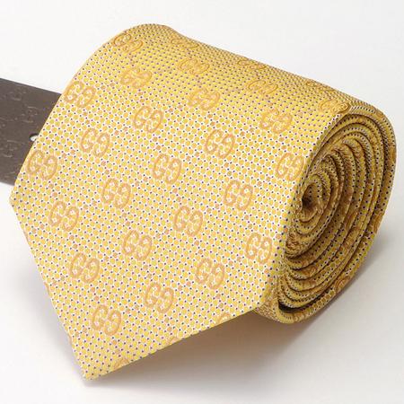 黄色のグッチネクタイ