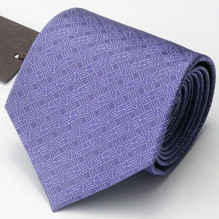 紫のグッチネクタイ