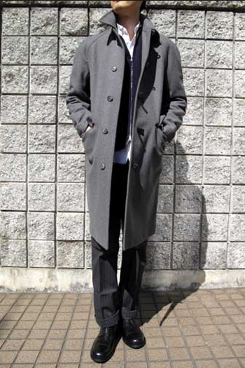 ステンカラーコート
