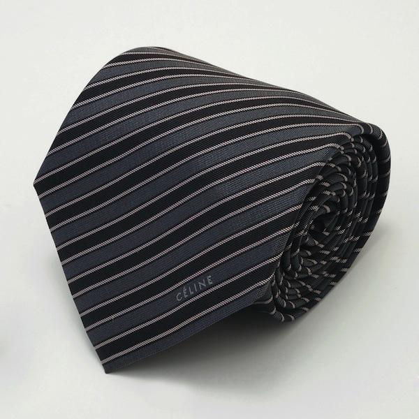 グレー系ネクタイ